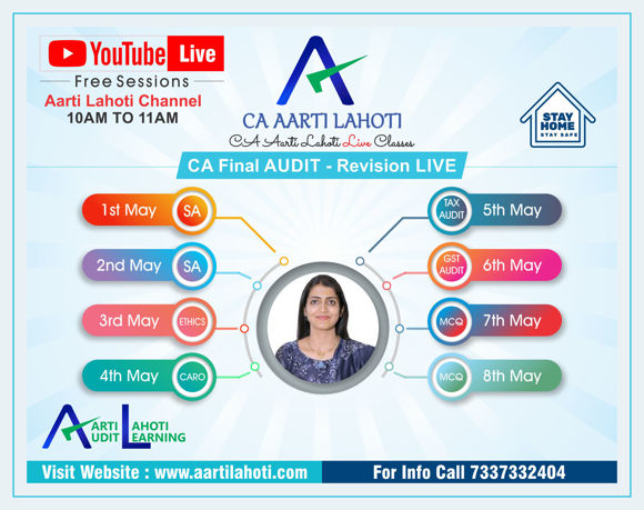 Picture of CA Final Audit - REVISION LIVE