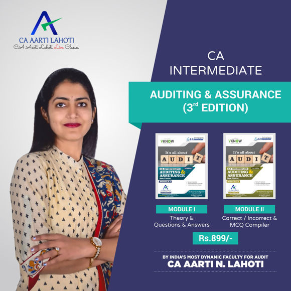 Picture of CA Inter Auditing & Assurance