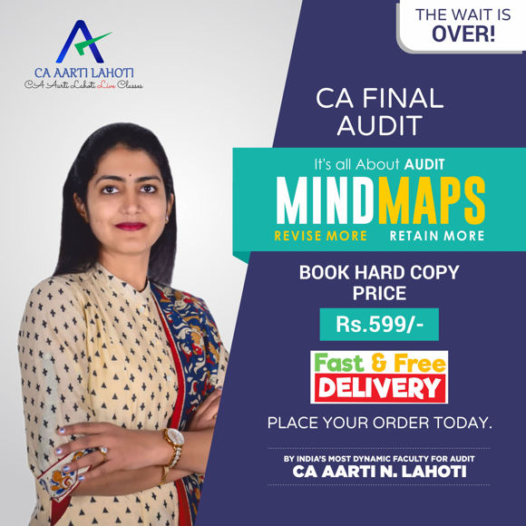 Picture of CA Final - Audit Mindmaps (Book)