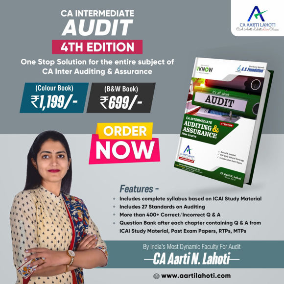Picture of CA Inter Auditing & Assurance - 4th Edition